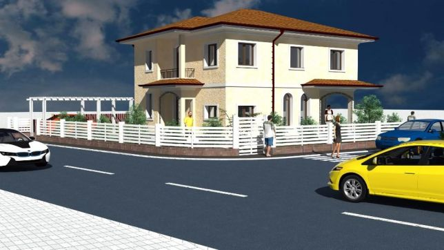 Casa individuala, Borhanci, constructie noua